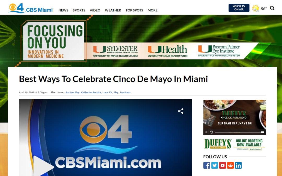 Best Ways To Celebrate Cinco De Mayo In Miami